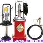 Gresor vaselina pneumatic / Pompa pneumatica gresare vaselina 15litri