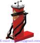 Inyector de grasa con pedal / Cubeta con bomba manual para aceite 6kg