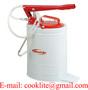 Lubricador de alta presión / Cubeta con bomba manual para aceite
