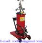 Lubricador de aceite con carro / Engrasador a pedal 12Kg