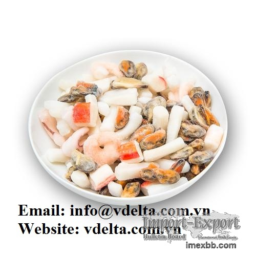 Very cheap Delicious IQF Mixed Seafood Bags For Hot Pot