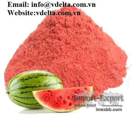 Food Grade 100% Pure Natural Watermelon Fruit Extract Powder