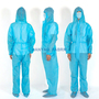 Blue disposable Gown