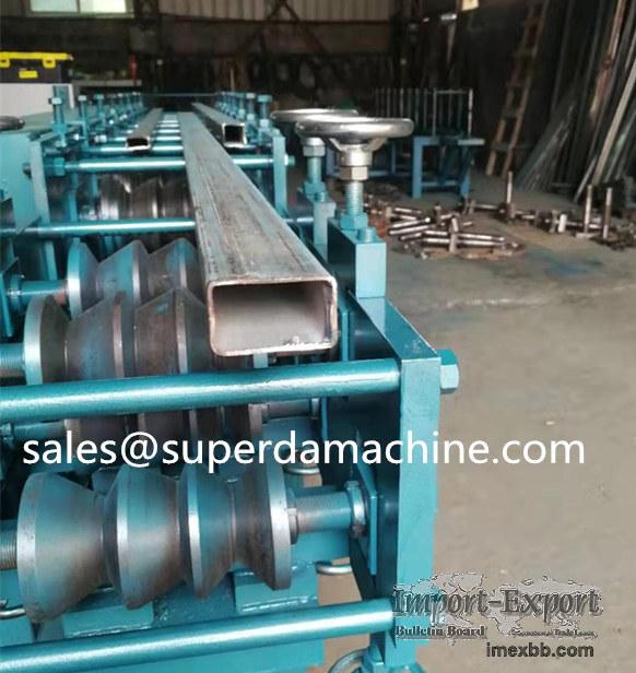 Mild Steel 30*50 Rectangular Pipe Fabrication Machine