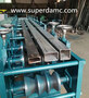 Engineer Design 40*40mm Square Tube Production Machine