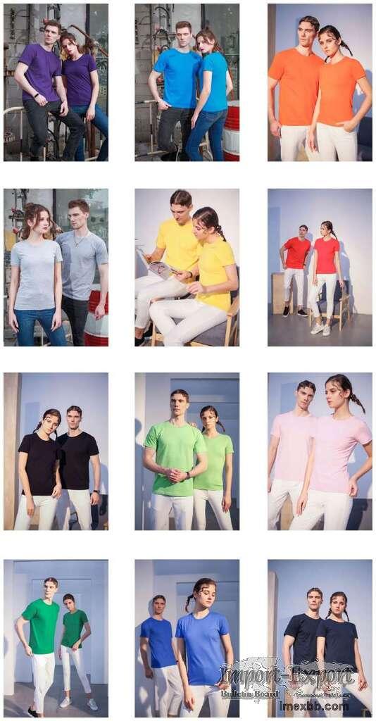 New arrival style luxury plus size t-shirts custom logo men's t-shirts cott
