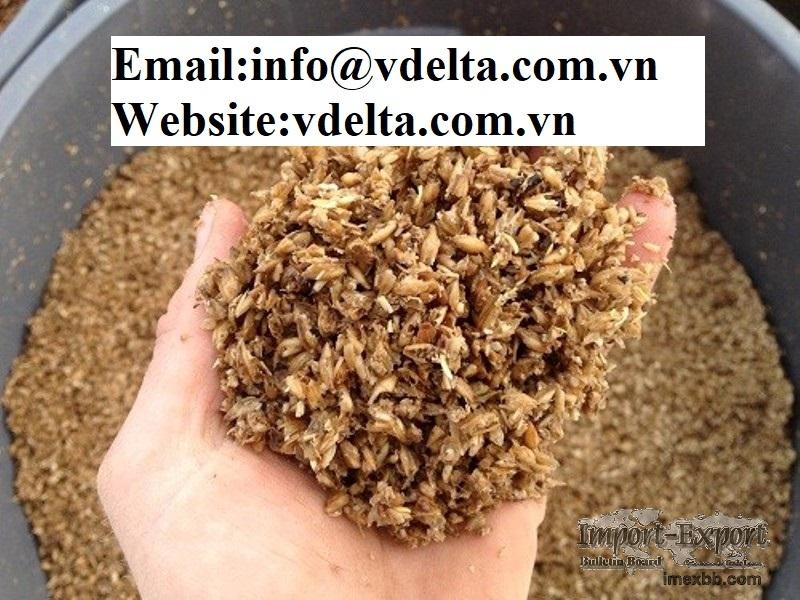 Dried Beer Food Residue from VIETNAM