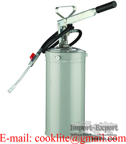 Engrasador de pie grasera manual a palanca / Cubeta despachadora de grasa