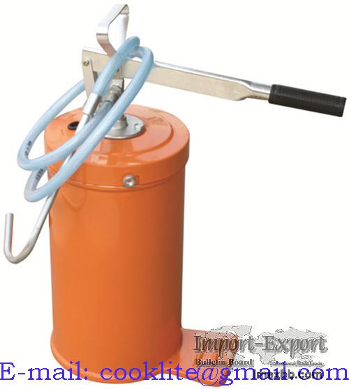 Pompa manuala de gresare cu rezervor 10 kg