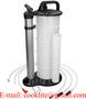 Bomba de sucção para extração de óleo 9l pneumática e manual
