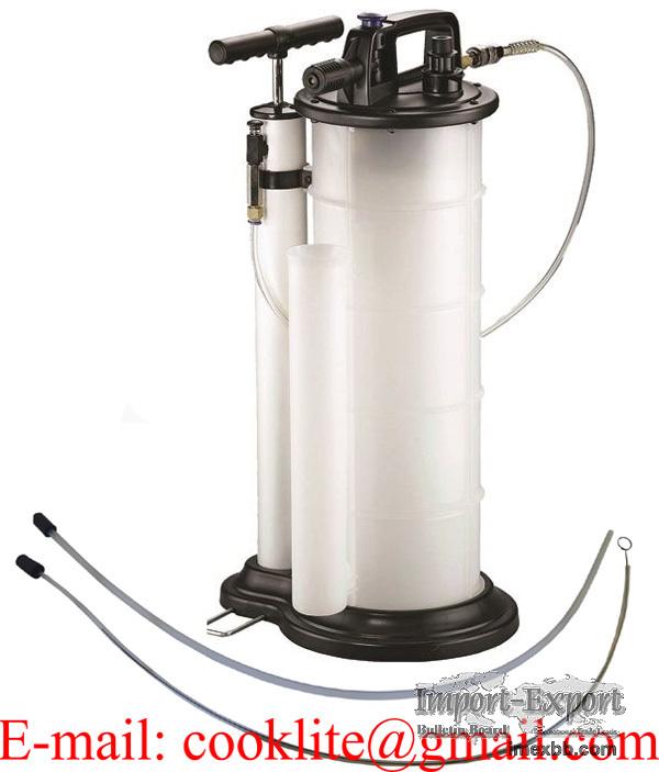 Olie en vloeistof afzuigpomp extractor oliepomp vacuumpomp 9 liter