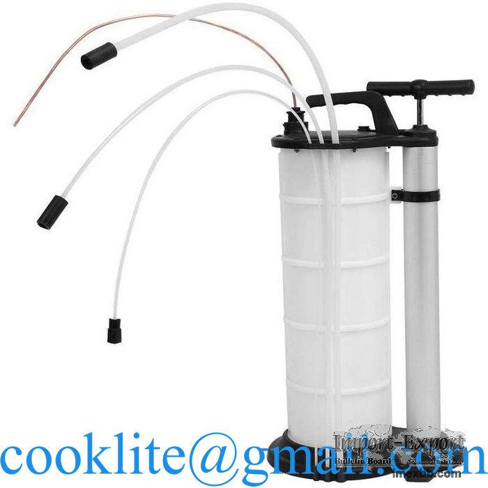 Manuelle pneumatisch ölabsaugpumpe 9L diesel öl wasser fluid sifon siphon f