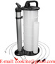 Manuale Liquido e olio Estrattore Aspirazione Pompa A Vuoto 9L