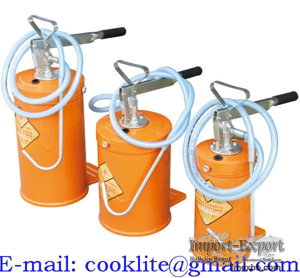 Olieafgifte vetafgifte unit draagbaar / Hand vetpomp oliepomp vetafgiftepom