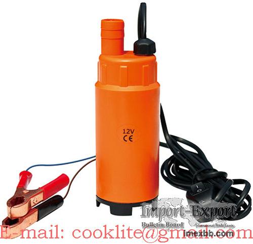 Bomba elétrica para transferência de óleo diesel água - DC 12V/24V