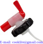 58mm ( 54x4mm ) aeroflow filling tap on screw cap for 20l liquid chlorine/l