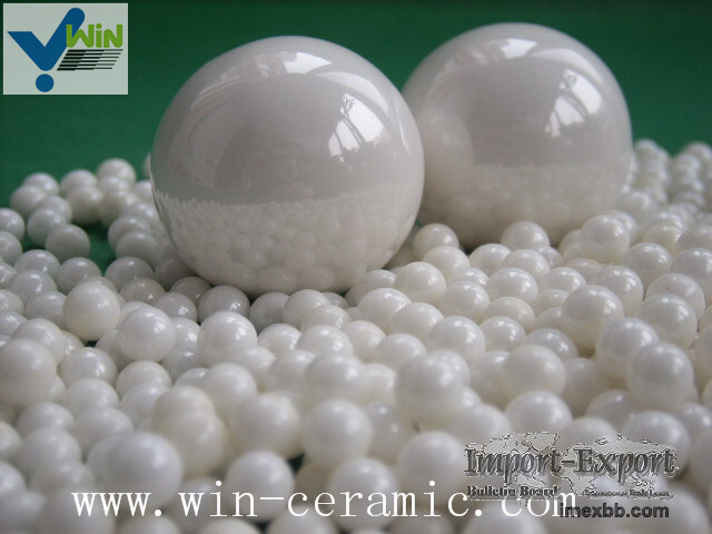High strength zirconia beads wear protection ceramic