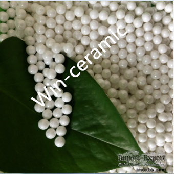 Zirconia sintered beads with high wear resistant