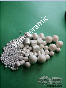 Zirconia sintered beads with high hardness