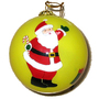 New Type Salable Good Quality Christmas Inside Hand Painted Ornament