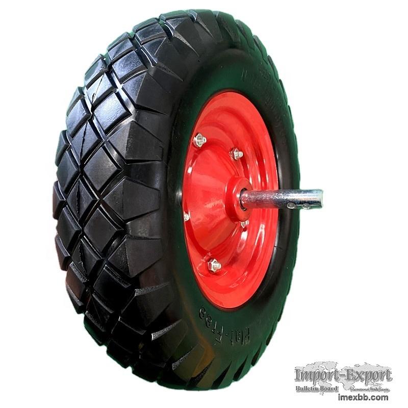 PU wheels 400-8