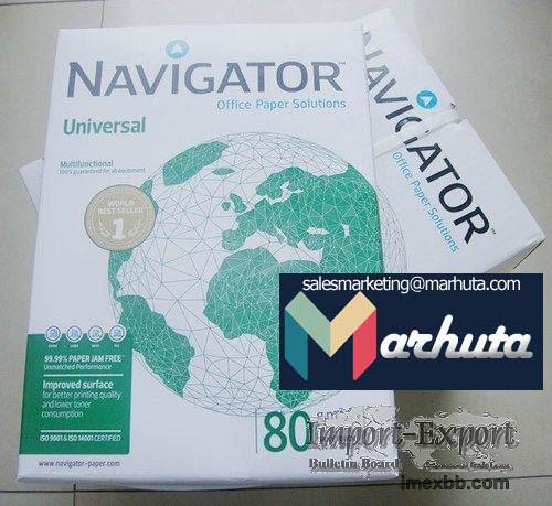 Best quality Navigator copy paper A4 80 GSM