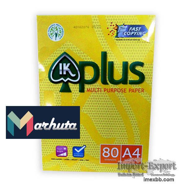 Best quality IK Plus A4 paper 80 GSM