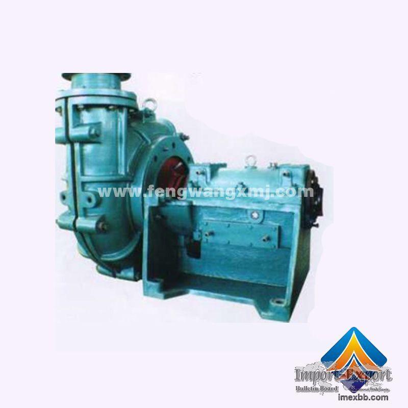 ZJ Series Slurry Pump    electric slurry pump