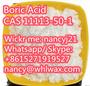 Boric Acid; CAS 11113-50-1  WhatsApp / Skype me +8615271919527
