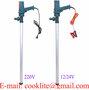 220V Pompa beczkowa pompka elektryczna do roznych plynow - 60L/Min