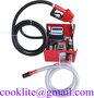Automata gazolajszivattyu szett 230V 550W 60l/perc, automata toltopisztolya