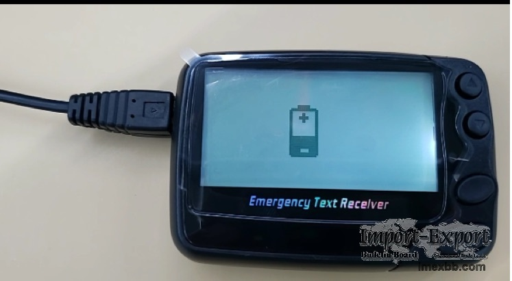 Rechargeable Li battery Alpha pager radio pocsag pager beeper