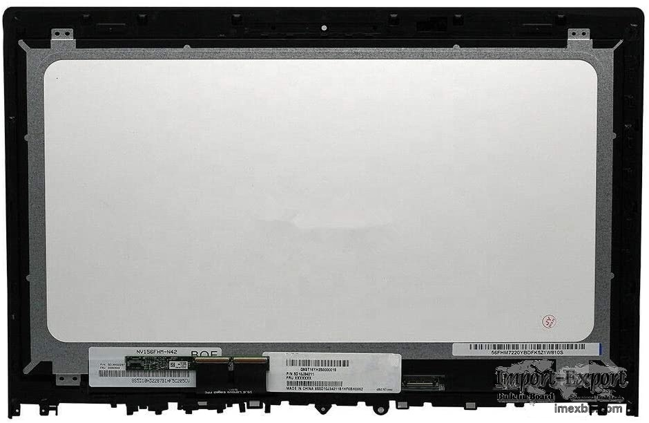 New 15.6'' FHD LCD Touch Screen Assembly for Lenovo Edge 2-1580 80QF0004US
