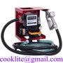 Pompa travaso gasolio autoadescante con contatore volumetrico