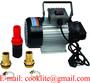 Engine oil transfer gear pump 220V AC portable self priming hydraulic 20L/M