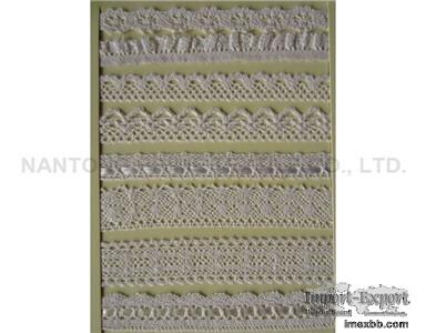wihte cotton lace      cotton lace