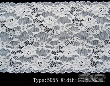 narrow fabric    organic cotton lace