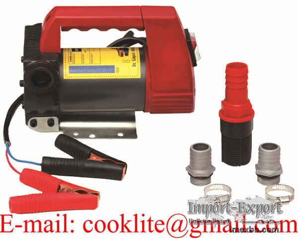 Portable Diesel Biodiesel Kerosene Pumpcast Fuel Transfer Extractor Pump