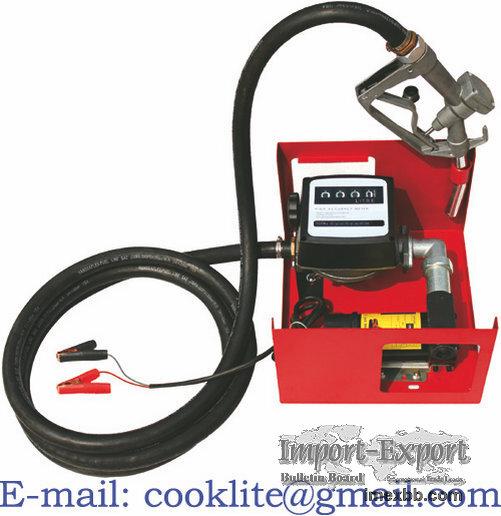 Electric Oil diesel fuel transfer dispensing pump kit wall mounted fuel dis