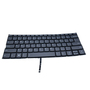 Laptop US Layout keyboard with backlight for Lenovo Yoga 730-13IKB Gray Col
