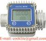 Electronic Fuel Flow Meter Turbine Flowmeter Check Digital Diesel Gasoline