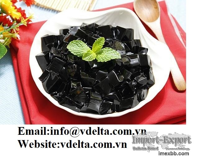 High quality Grass Black Jelly from VIETNAM