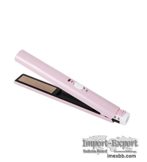 TL3525 Pink Usb Cordless Hair Straightener