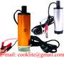 12V Mini Submersible Diesel Fuel Gas Water Oil Car Transfer Drum Pump