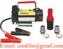 Portable Electric Diesel Oil and Fuel Transfer Extractor Pump Motor 12/24V