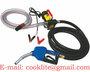 Bomba Surtidor 12/24V Para Gasoil Kit Completo con Pistola Automatica y Man