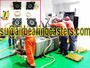 Air bearing casters easy to operate and more safety