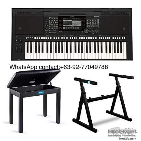 Yamaha PSR-S975 61-Key Digital Arranger Workstation Keyboard with Knox Stan