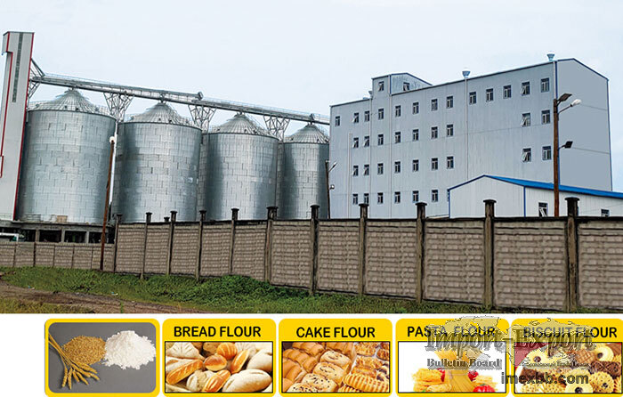 Multi-story Steel Structure Flour Milling Plant