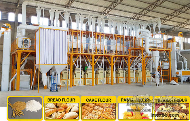 Compact Structure Flour Milling Plant